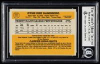 Ryne Sandberg Signed 1983 Donruss #277 RC (BGS Encapsulated) at PristineAuction.com