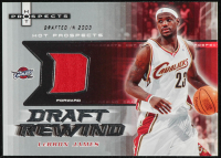 LeBron James 2006-07 Fleer Hot Prospects Draft Rewind Memorabilia #JA at PristineAuction.com