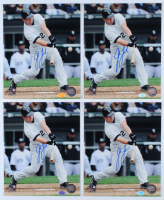 Lot of (4) Josh Fields Signed White Sox 8x10 Photos (Hollywood Collectibles Hologram) at PristineAuction.com