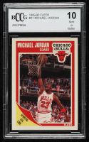 Michael Jordan 1989-90 Fleer #21 (BCCG 10) at PristineAuction.com