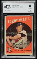 Roger Maris 1959 Topps #202 (BCCG 8) at PristineAuction.com