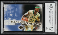 Kobe Byrant / LeBron James 2003-04 UD Top Prospects Mentors and Learners #ML5 (BCCG 10) at PristineAuction.com