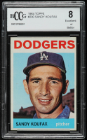 Sandy Koufax 1964 Topps #200 (BCCG 8) at PristineAuction.com