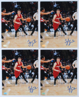 Lot of (4) Tyler Johnson Signed Heat 8x10 Photos (Hollywood Collectibles Hologram) at PristineAuction.com