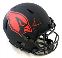 Larry Fitzgerald Signed Cardinals Full-Size Authentic On-Field Eclipse Alternate Speed Helmet (Beckett COA) at PristineAuction.com
