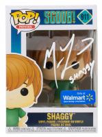 "Matthew Lillard Signed ""Scoob!"" #911 Shaggy Funko Pop! Vinyl Figure Inscribed ""Shaggy"" (PSA COA) at PristineAuction.com"