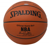 """LeBron James Signed LE Official NBA Game Ball Inscribed """"1st Pick 2003 Draft"""" (UDA COA) at PristineAuction.com"""