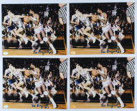 Lot of (4) Em Bryant Signed Knicks 8x10 Photos (Hollywood Collectibles Hologram) at PristineAuction.com
