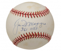 Joe DiMaggio Signed OAL Baseball (PSA COA) at PristineAuction.com