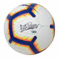 Cristiano Ronaldo Signed Nike Soccer Ball (Fanatics Hologram & Beckett Hologram) at PristineAuction.com