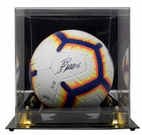 Cristiano Ronaldo Signed Nike Soccer Ball with Display Case (Fanatics Hologram) at PristineAuction.com