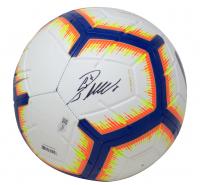 Cristiano Ronaldo Signed Nike Soccer Ball with Display Case (Fanatics Hologram) at PristineAuction.com