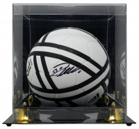 Cristiano Ronaldo Signed Adidas Soccer Ball with Display Case (Fanatics Hologram) at PristineAuction.com