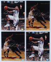 Lot of (4) Tyreke Evans Signed Kings 8x10 Photos (Hollywood Collectibles Hologram) at PristineAuction.com