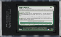 Mike Trout 2011 Bowman Draft #101 RC (SGC 10) at PristineAuction.com