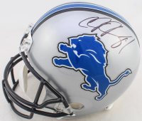 Calvin Johnson Signed Lions Full-Size Helmet (JSA COA) at PristineAuction.com