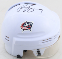 Brandon Dubinsky Signed Blue Jackets Mini Helmet (JSA COA) at PristineAuction.com