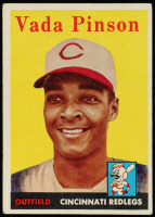 Vada Pinson 1958 Topps #420 RC at PristineAuction.com