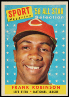 Frank Robinson 1958 Topps #484 All-Star at PristineAuction.com