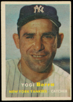 Yogi Berra 1957 Topps #2 at PristineAuction.com