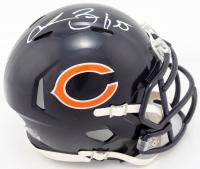 Lance Briggs Signed Bears Speed Mini Helmet (Beckett COA) at PristineAuction.com