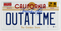 """Christopher Lloyd Signed """"Back to the Future"""" California License Plate (Beckett COA) (See Description) at PristineAuction.com"""
