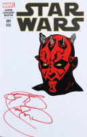 Ray Park Signed Darth Maul Star Wars 001 Variant Edition (JSA COA) at PristineAuction.com