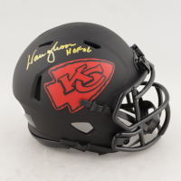 "Warren Moon Signed Chiefs Eclipse Alternate Speed Mini Helmet Inscribed ""HOF 06"" (Beckett COA) at PristineAuction.com"