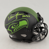 "Warren Moon Signed Seahawks Eclipse Alternate Speed Mini Helmet Inscribed ""HOF 06"" (Beckett COA) at PristineAuction.com"