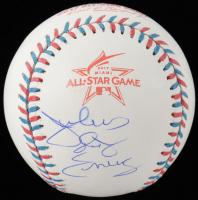 "Julius "" Dr. J"" Erving Signed 2017 All-Star Game Baseball (PSA COA) at PristineAuction.com"