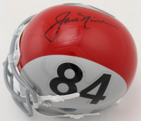 Jack Nicklaus Signed Throwback 1964-65 Ohio State Buckeyes Mini Helmet (JSA ALOA) at PristineAuction.com