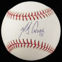 Melky Cabrera Signed OML Baseball (MAB Hologram) at PristineAuction.com