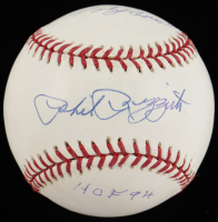"Phil Rizzuto Signed OML Baseball Inscribed ""Holy Cow!"" & ""HOF 94"" (JSA COA) at PristineAuction.com"
