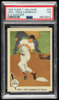 Ted Williams 1959 Fleer #53 Comeback is Success (PSA 7) at PristineAuction.com