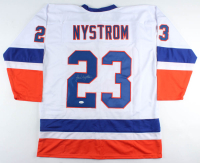 Bob Nystrom Signed Jersey (JSA COA) at PristineAuction.com