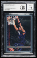 Tracy McGrady Signed 1997-98 Topps Chrome #125 RC (BGS Encapsulated) at PristineAuction.com