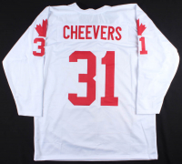 """Gary Cheevers Signed Jersey Inscribed """"CC 76"""" (JSA COA) at PristineAuction.com"""