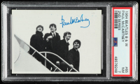 Paul McCartney 1964 Beatles Black and White #65 2nd Series (PSA 7) at PristineAuction.com