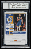 Stephen Curry Signed 2019-20 Panini Contenders Optic Red #32 (BGS Encapsulated) at PristineAuction.com