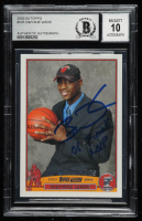 "Dwyane Wade Signed 2003-04 Topps #225 RC Inscribed ""06 Finals MVP"" (BGS Encapsulated) at PristineAuction.com"
