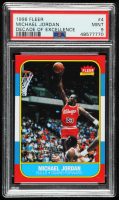 Michael Jordan 1996-97 Fleer Decade of Excellence #4 (PSA 9) at PristineAuction.com