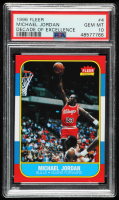 Michael Jordan 1996-97 Fleer Decade of Excellence #4 (PSA 10) at PristineAuction.com