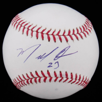 Marcell Ozuna Signed OML Baseball (JSA COA) (See Description) at PristineAuction.com