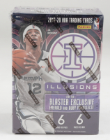 2019/20 Panini Illusions Basketball Blaster Box with (6) Packs (See Description) at PristineAuction.com