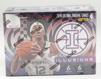 2019/20 Panini Illusions Basketball Blaster Box with (6) Packs at PristineAuction.com