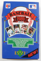 1989 Upper Deck Baseball Low Series Box of (36) Packs (See Description) at PristineAuction.com