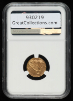 1927 $2.50 Indian Head Quarter Eagle Gold Coin (NGC AU55) at PristineAuction.com