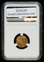 1911 $2.50 Indian Head Quarter Eagle Gold Coin (NGC AU55) at PristineAuction.com