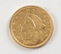 1845 $2.50 Liberty Gold Coin at PristineAuction.com