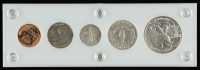 1937 United States Mint Coin Set with (5) Coins at PristineAuction.com